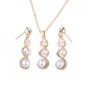 Baroque Pearl Drop Set