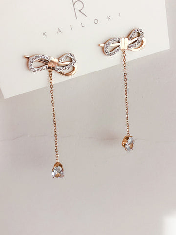 Long Chain Earrings - socialblingz