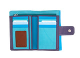 Dual coloured wallet - socialblingz