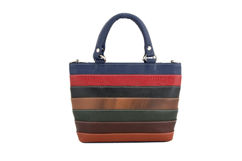 Multi Leather bag - socialblingz