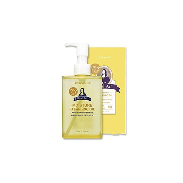 Real Art Cleansing Oil Moisture (185ml) ETUDE HOUSE