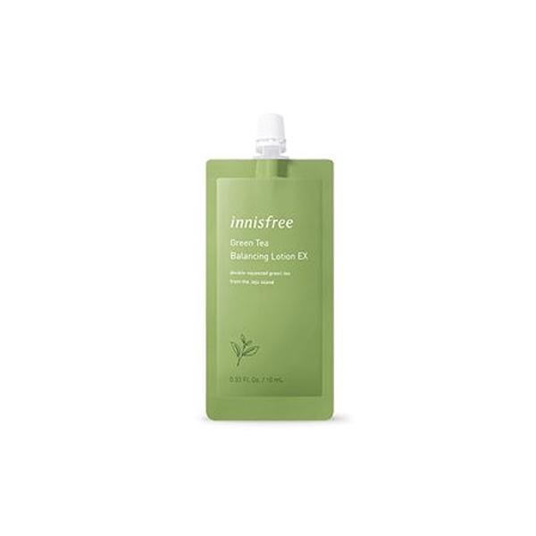 Green Tea Balancing Lotion EX 7Days (10ml) innisfree