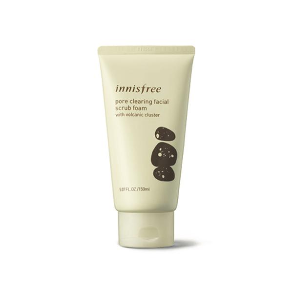 Jeju Volcanic Pore Scrub Foam (150ml) innisfree