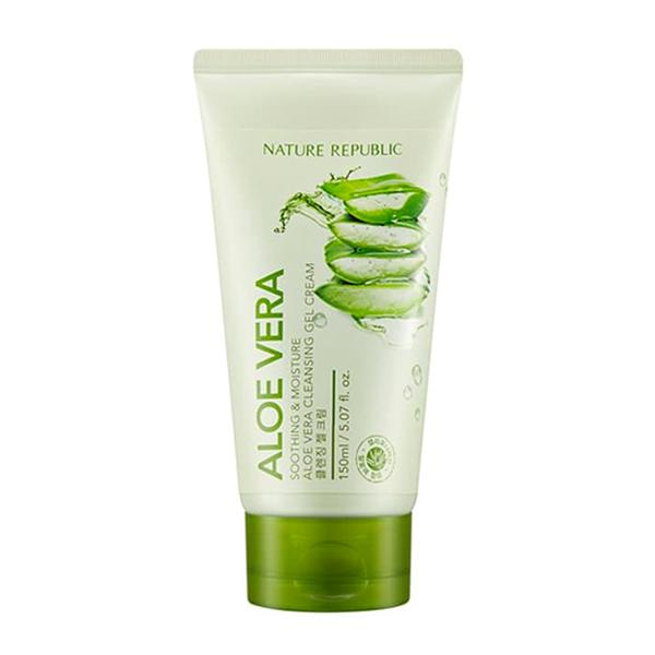 Aloe Vera Cleansing Gel Cream (150ml) NATURE REPUBLIC  ?id=12123340505167