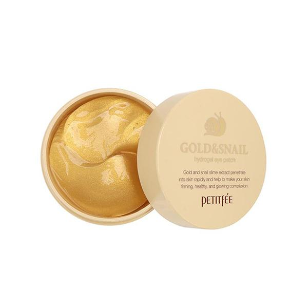 Gold & Snail Hydrogel Eye Patch (60 Patches) PETITFEE  ?id=12080291545167