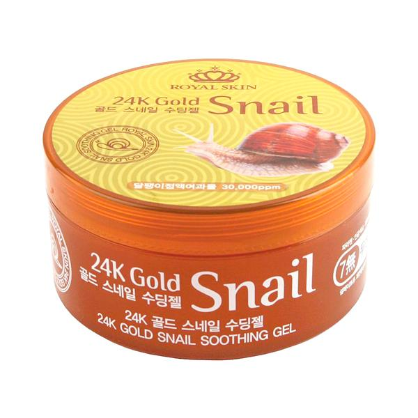 24K Gold Snail Soothing Gel (300ml)