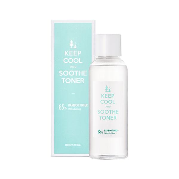 Soothe 85% Bamboo Toner (160ml) KEEP COOL
