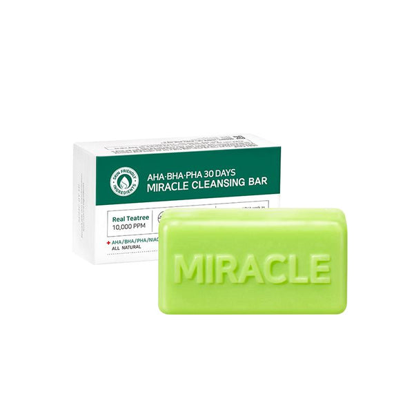 AHA BHA PHA 30 Days Miracle Cleansing Bar (95g) SOME BY MI