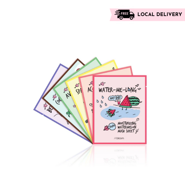 [Free Local Delivery] Fruit Masks Jumbo Variety Pack (60 Sheets)