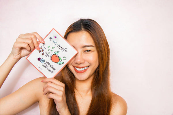 AC-Me-Peach Anti-Blemish Peach Mask (10 Sheets) A'BLOOM