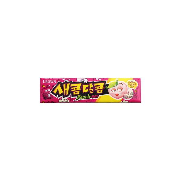 Sweet and Sour Chewy Candy (29g)_Peach