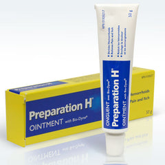 Preparation H hemorrhoids.