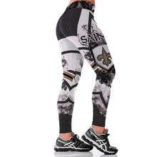 Load image into Gallery viewer, NEW ORLEANS SAINT 3D PRINT WOMEN LEGGINGS HIGH WAIST LEGGINGS