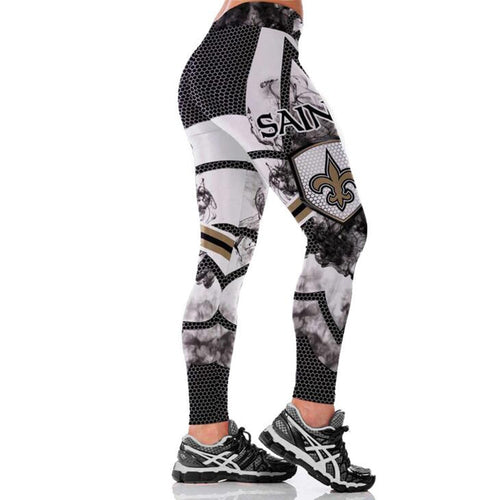 NEW ORLEANS SAINT 3D PRINT WOMEN LEGGINGS HIGH WAIST LEGGINGS