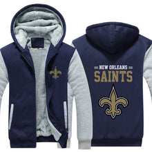 Load image into Gallery viewer, New Orleans Saints Football Jacket