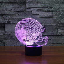 Load image into Gallery viewer, New Orleans Saints team 3D effect American football helmet led light furniture