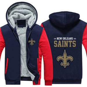 New Orleans Saints Football Jacket