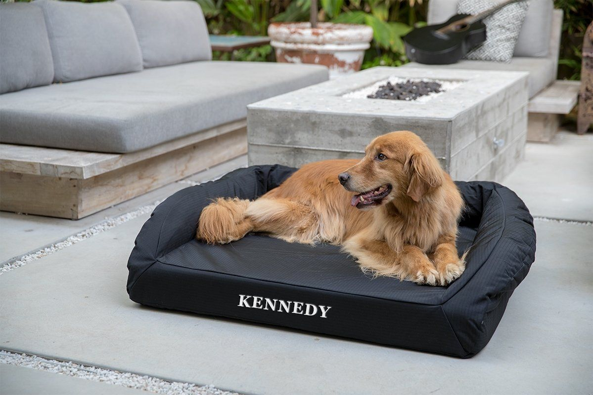 Tough Bolster Dog Bed Cover™