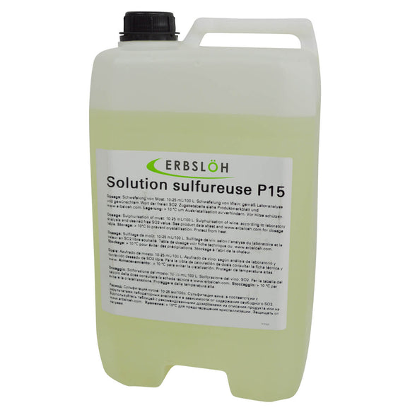 Solution sulfureuse P15 (Erbslöh)