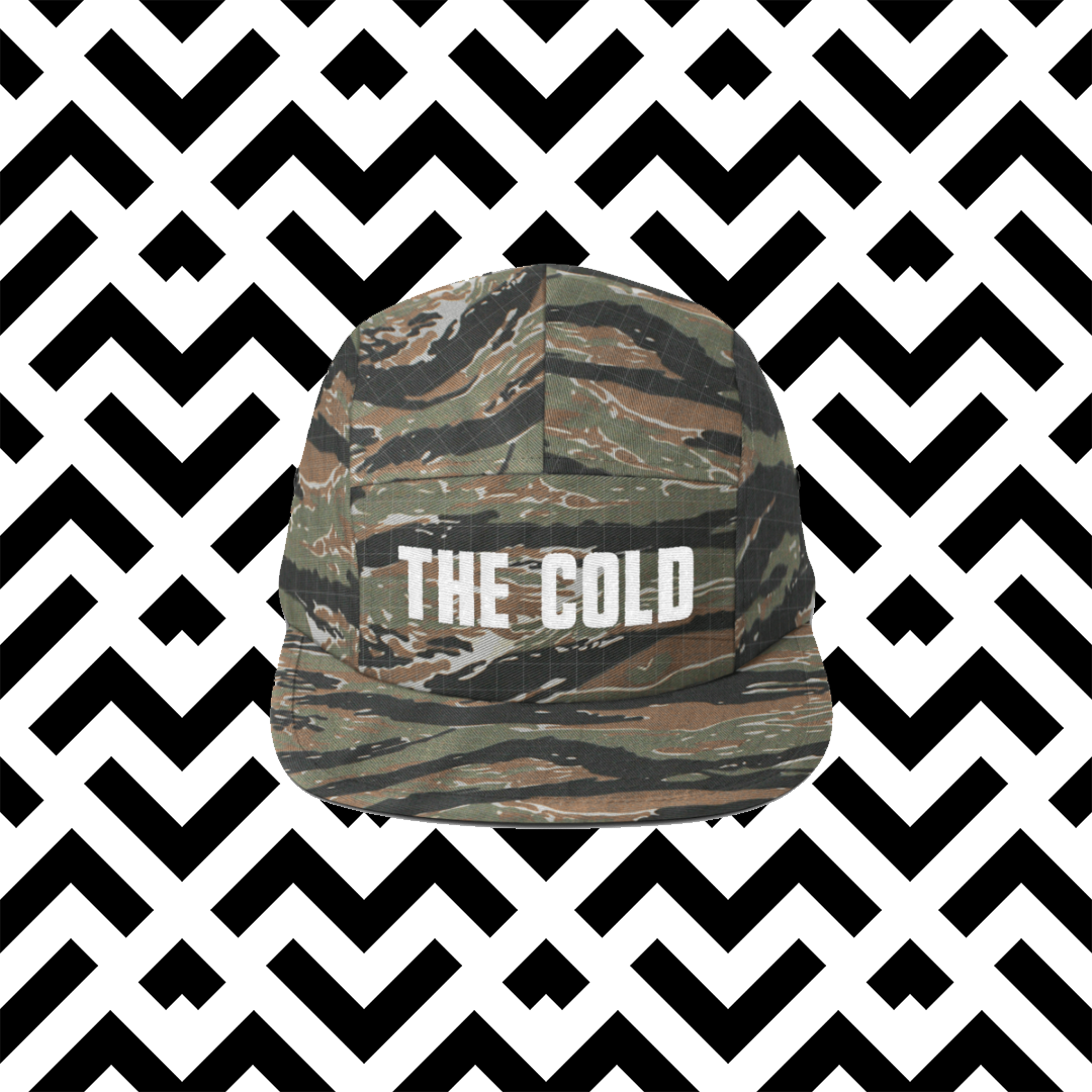 Classic Skater Cap | Camo - The Cold