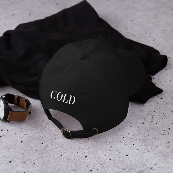 OG Dad Hat | Black - The Cold