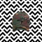 OG Dad Hat | Camo - The Cold