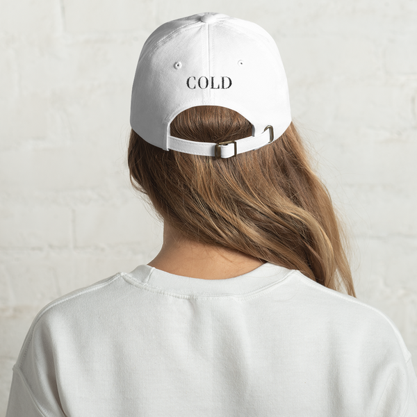 OG Dad Hat | White - The Cold