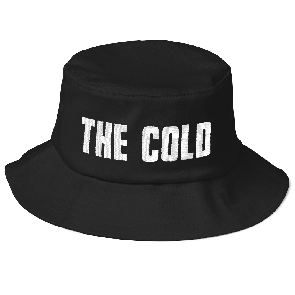 Old School Bucket Hat | Black - The Cold