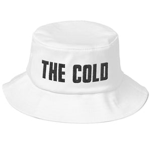 Old School Bucket Hat | White - The Cold