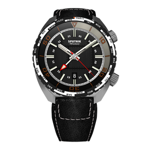 GRUMAN SPUTNIK GMT BLACK