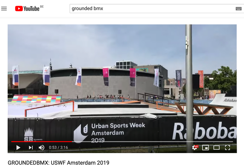Vlog: Team Grounded @ USWF BMX jam Amsterdam 2019