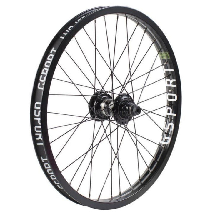Elite Freecoaster Rear Wheel Black