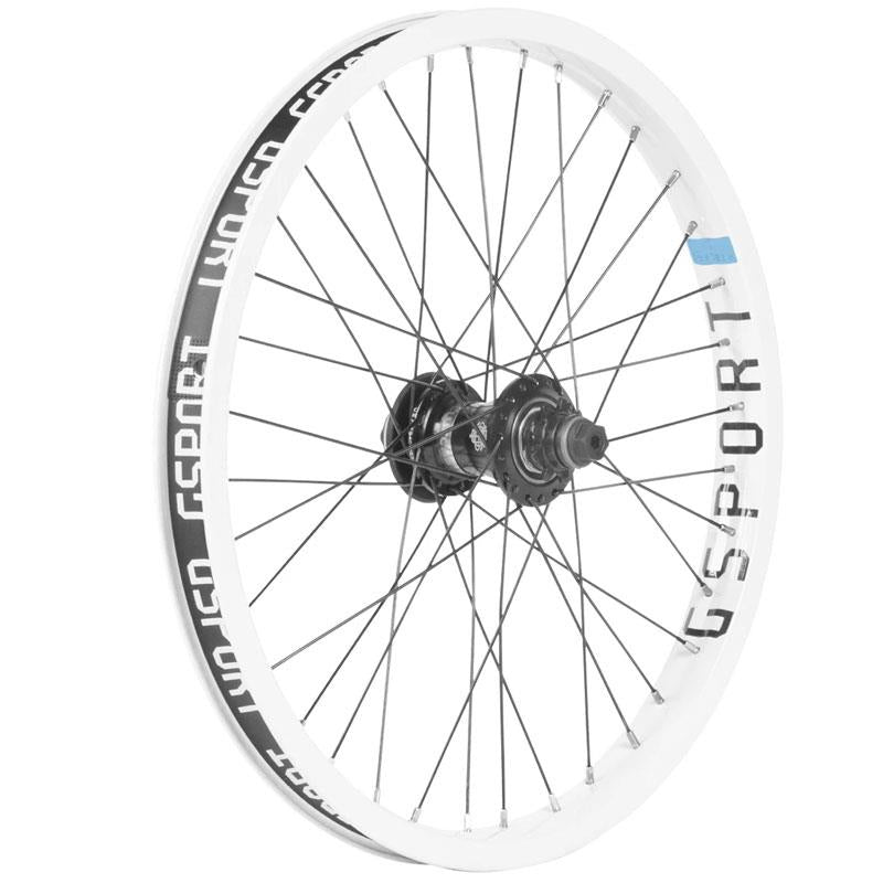 Elite Freecoaster Rear Wheel White