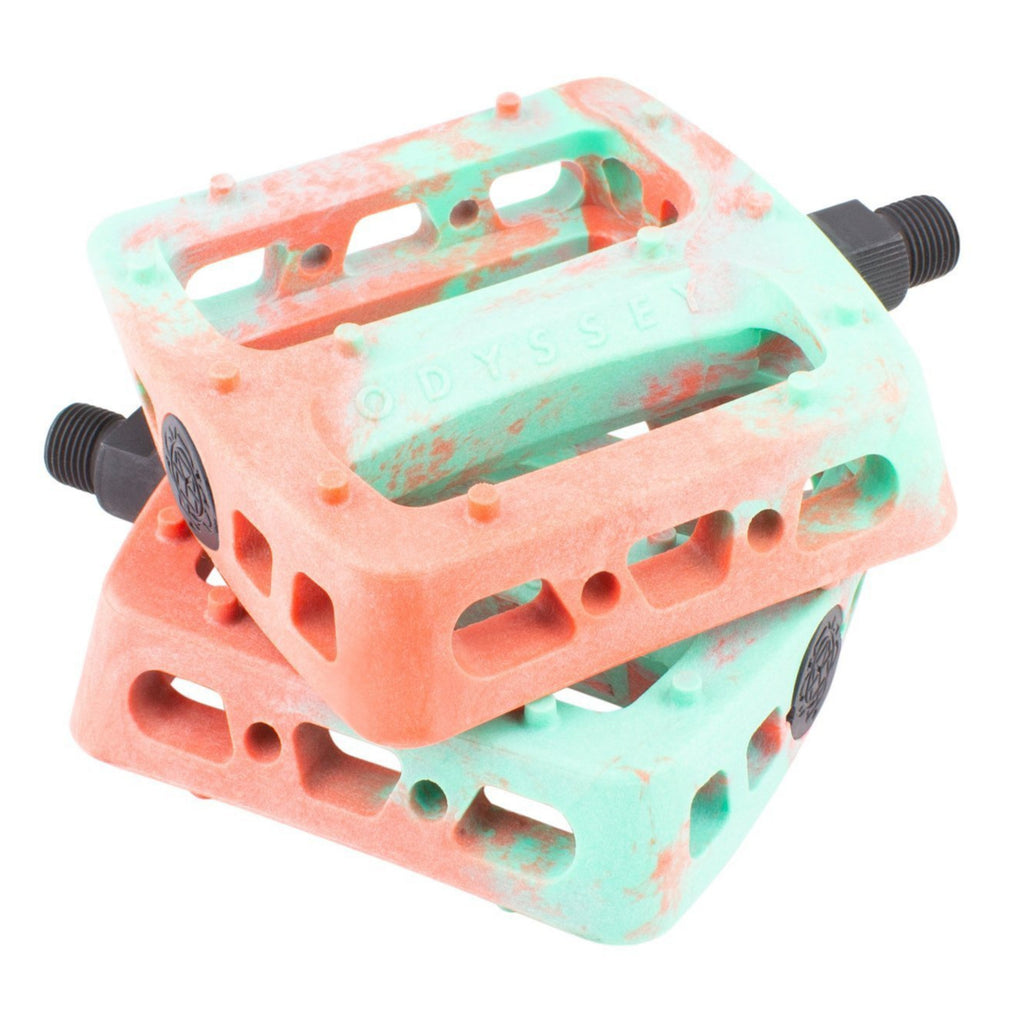 Twisted Pro Pedals Swirl toothp/red