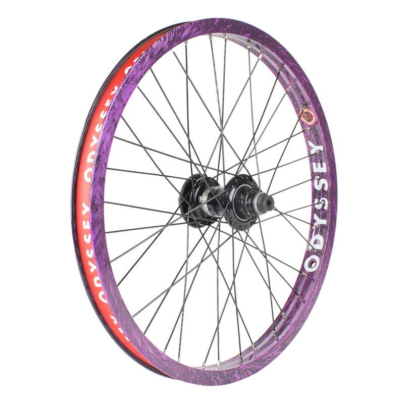 Clutch V2 Freecoaster Rear Wheel Purple