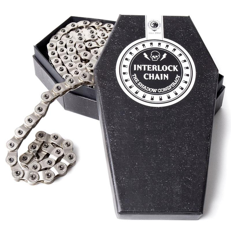 Interlock 2 Chain Silver