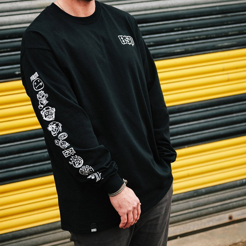 Icon Longsleeve TShirt Black