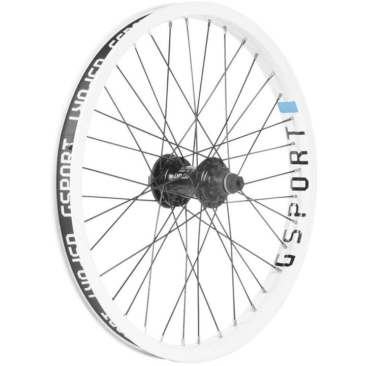 Quadrant Front Wheel Fire Red