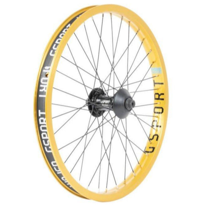 Elite Front Wheel Anodized Gold