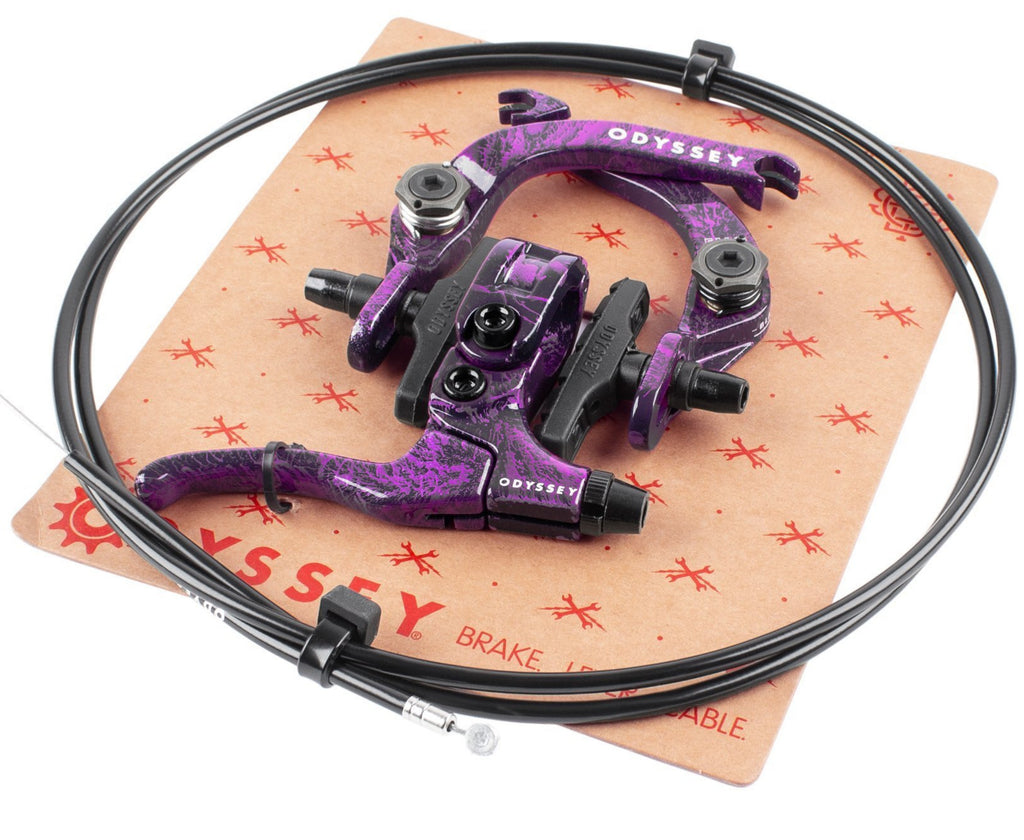 Evo 2.5 Brake Kit Purple Rain