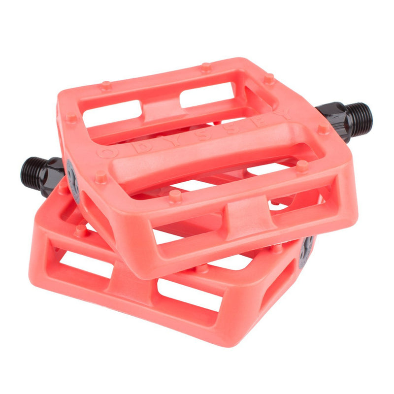 Grandstand V2 Pedals Bright Red