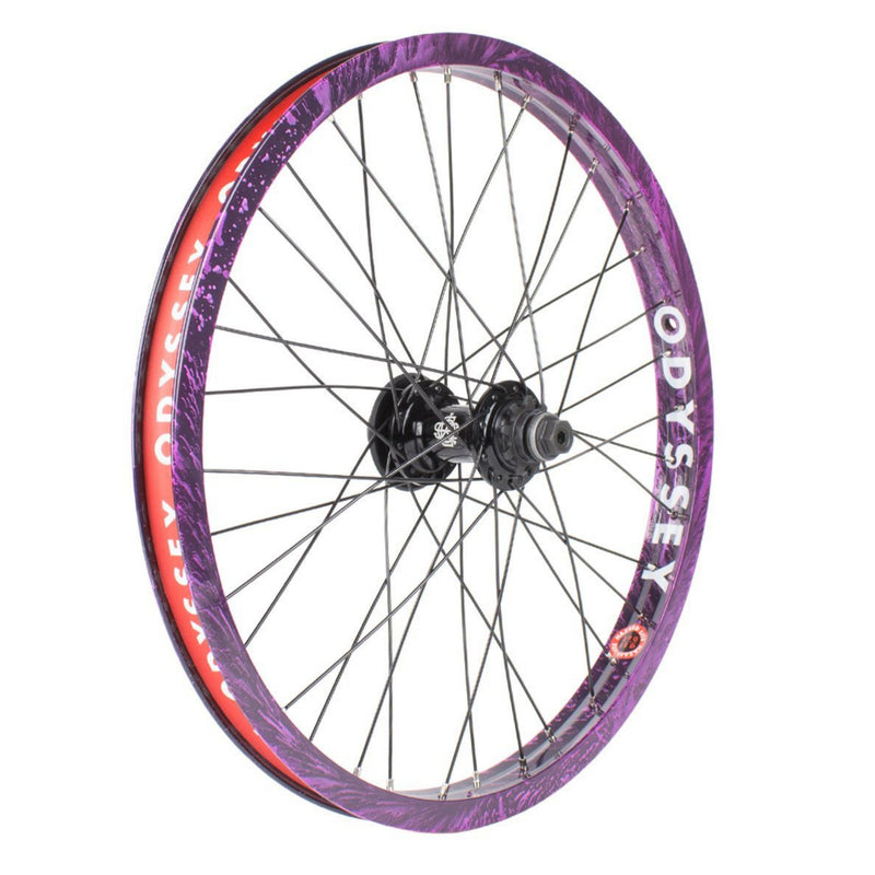 Elite Cassette Rear Wheel White