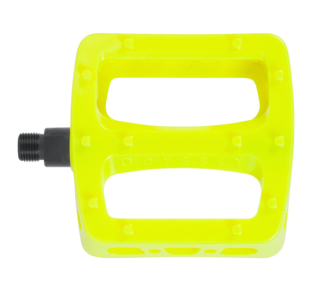 Twisted Pedals Fluo Yellow