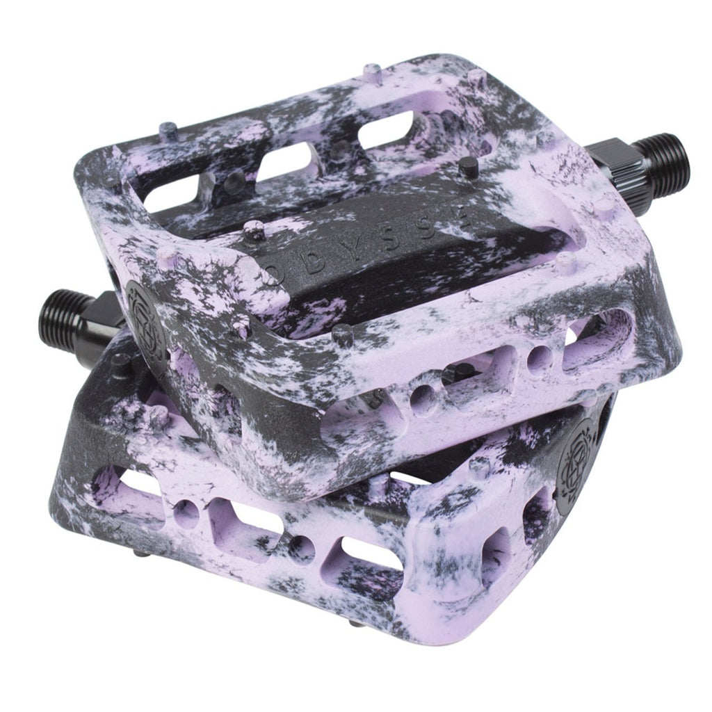 Twisted Pro Pedals Swirl Black/Lavender
