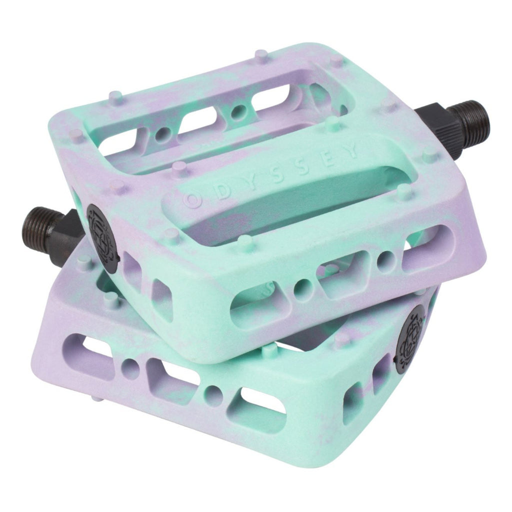 Twisted Pro Pedals Swirl Lav/toothp