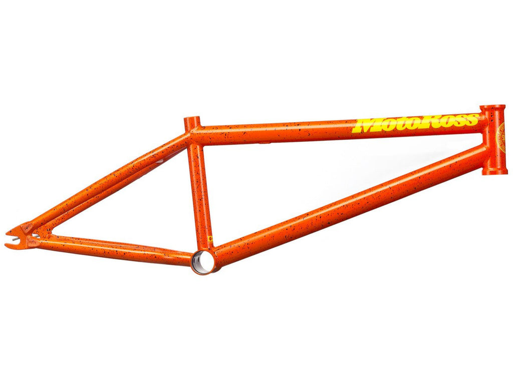 Motoross Frame Orange w/Black Splatter