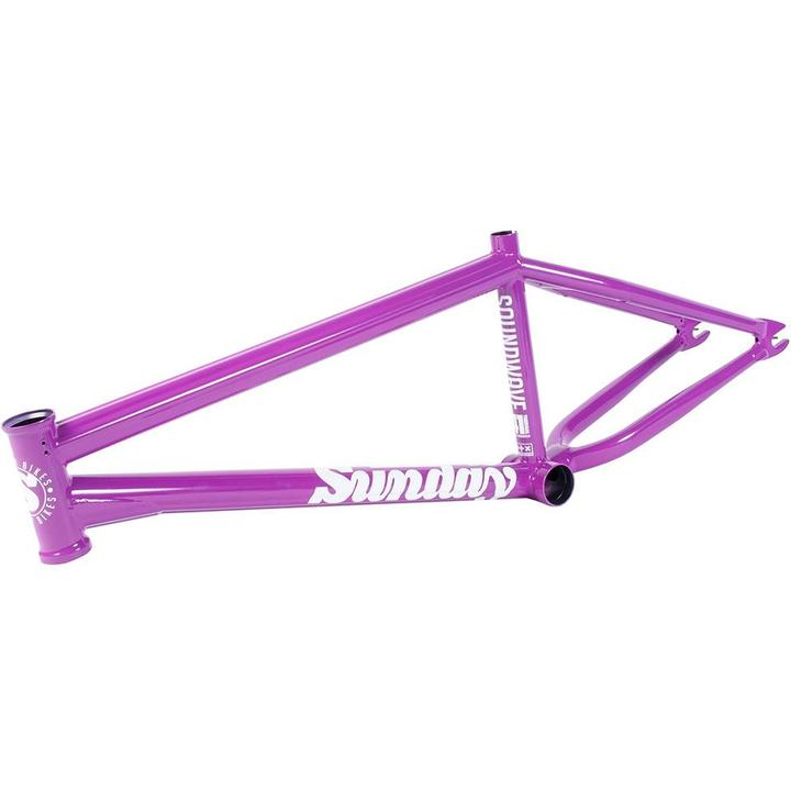 Street Sweeper Frame Matt Trans Blue