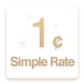 1¢ Simple Rate