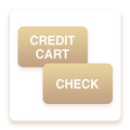 Credit Cards and Check Payments earn the same