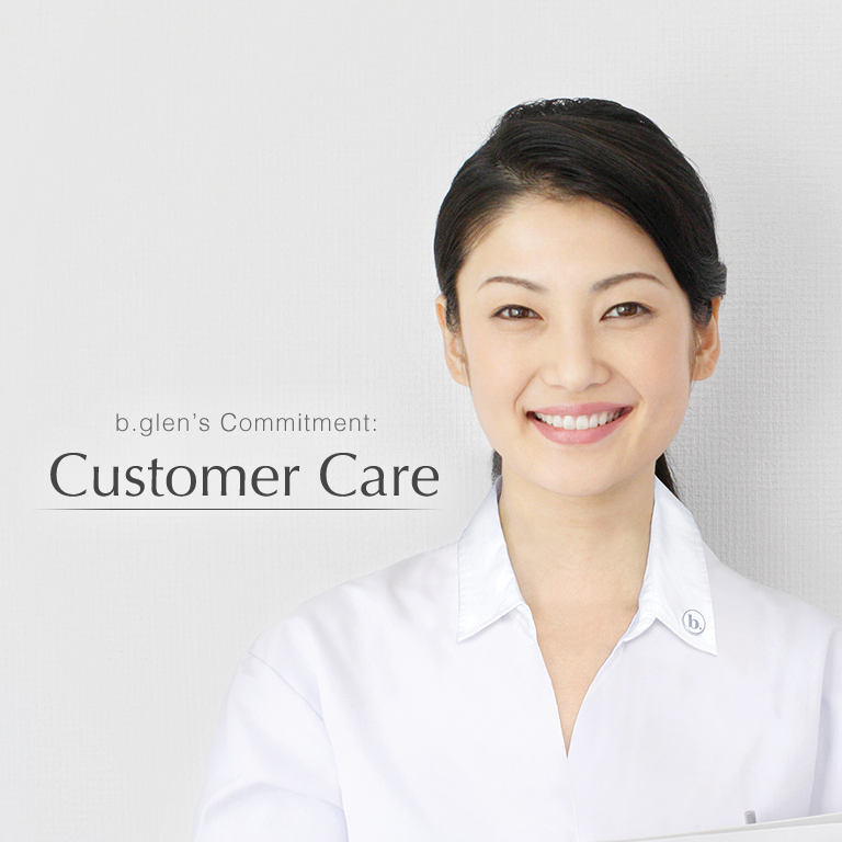 b.glen's Commitment: Customer Care